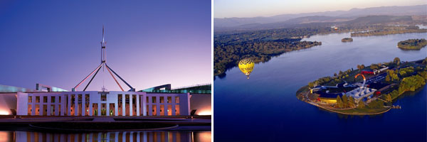 Tourist attractions in Canberra