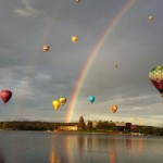 Canberra Rainbow and Balloons